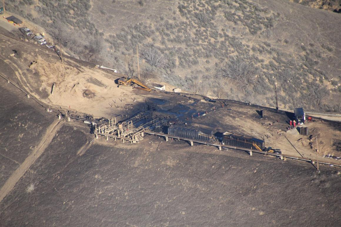 The leak at Aliso Canyon led to more than 100,000 tons of methane being belched into the atmosphere