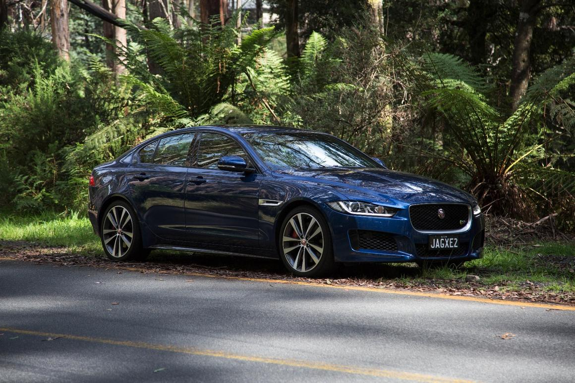 The Jaguar XE S combines a balanced chassis with a powerful, raspy engine to create a sports sedan sweet spot