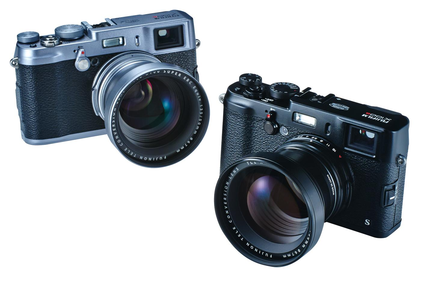 The Fujifilm TCL-X100 tele-conversion lens has been designed for the X100 and X100S