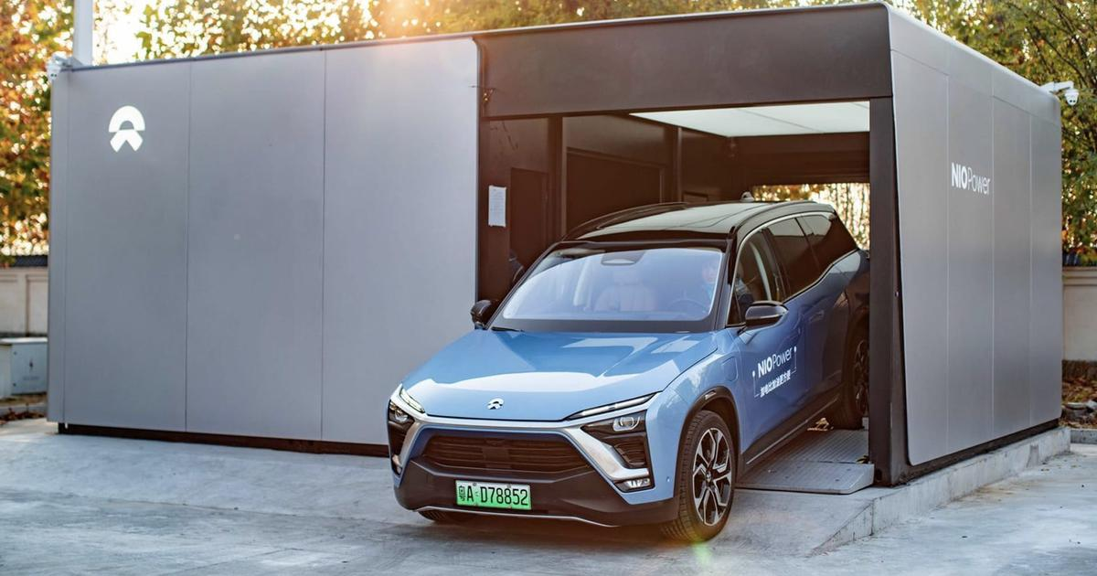 Nio's auto stations have now swapped out 500,000 EV batteries