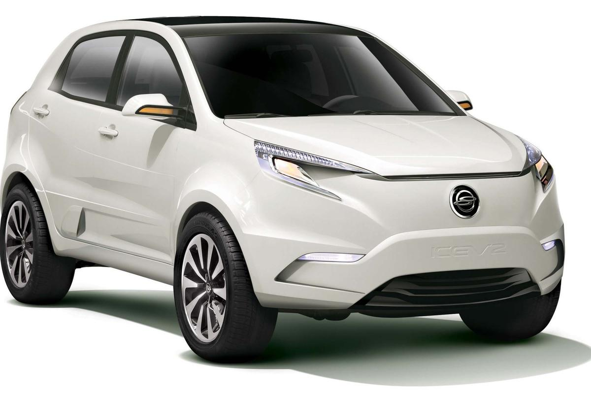 Ssangyong KEV2 electric vehicle concept