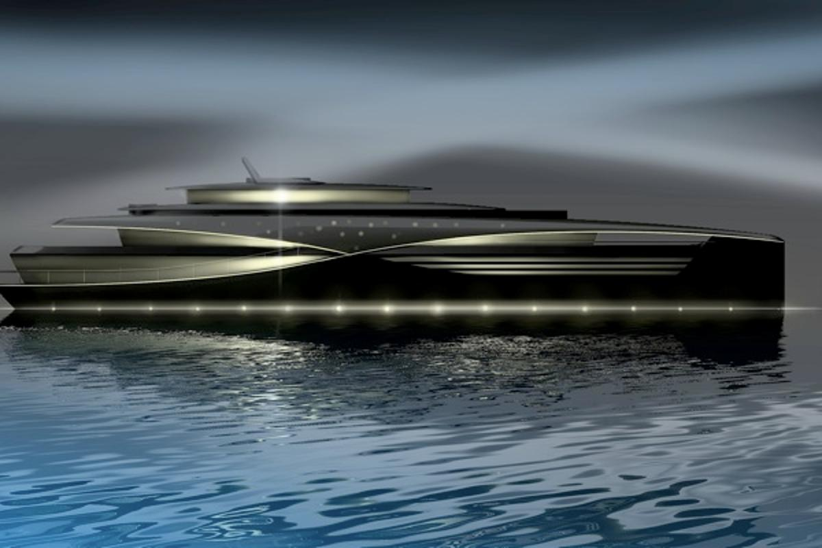 Feadship's Project Qi concept superyacht