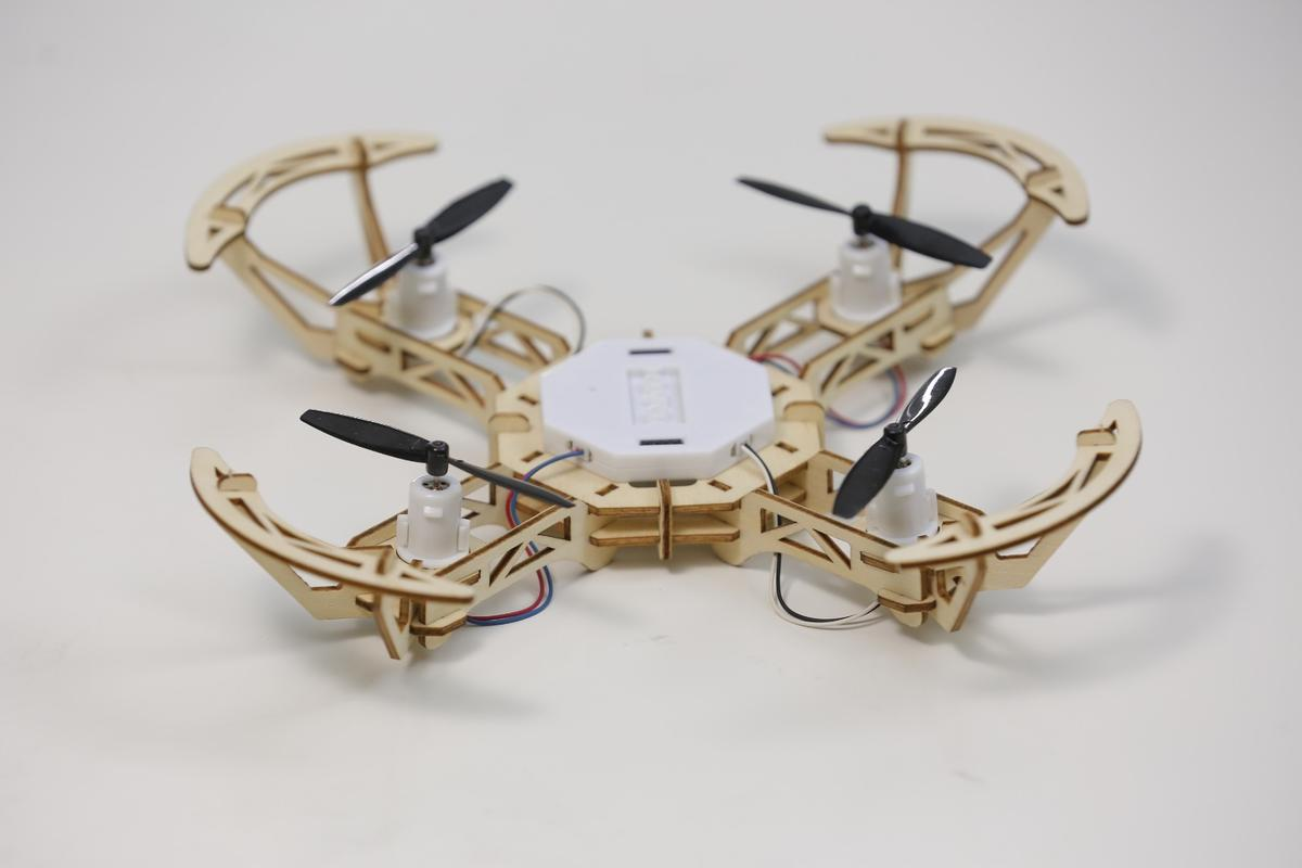 The Aerowood drone is presently the subject of an Indiegogo campaign
