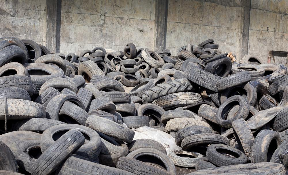 Carbon black from tires reportedly makes a better anode material than the traditional graphite (Photo: Shutterstock)