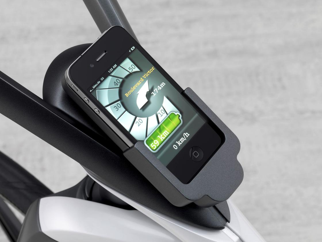 The e-bike will have smartphone integration via a smart drive kit app