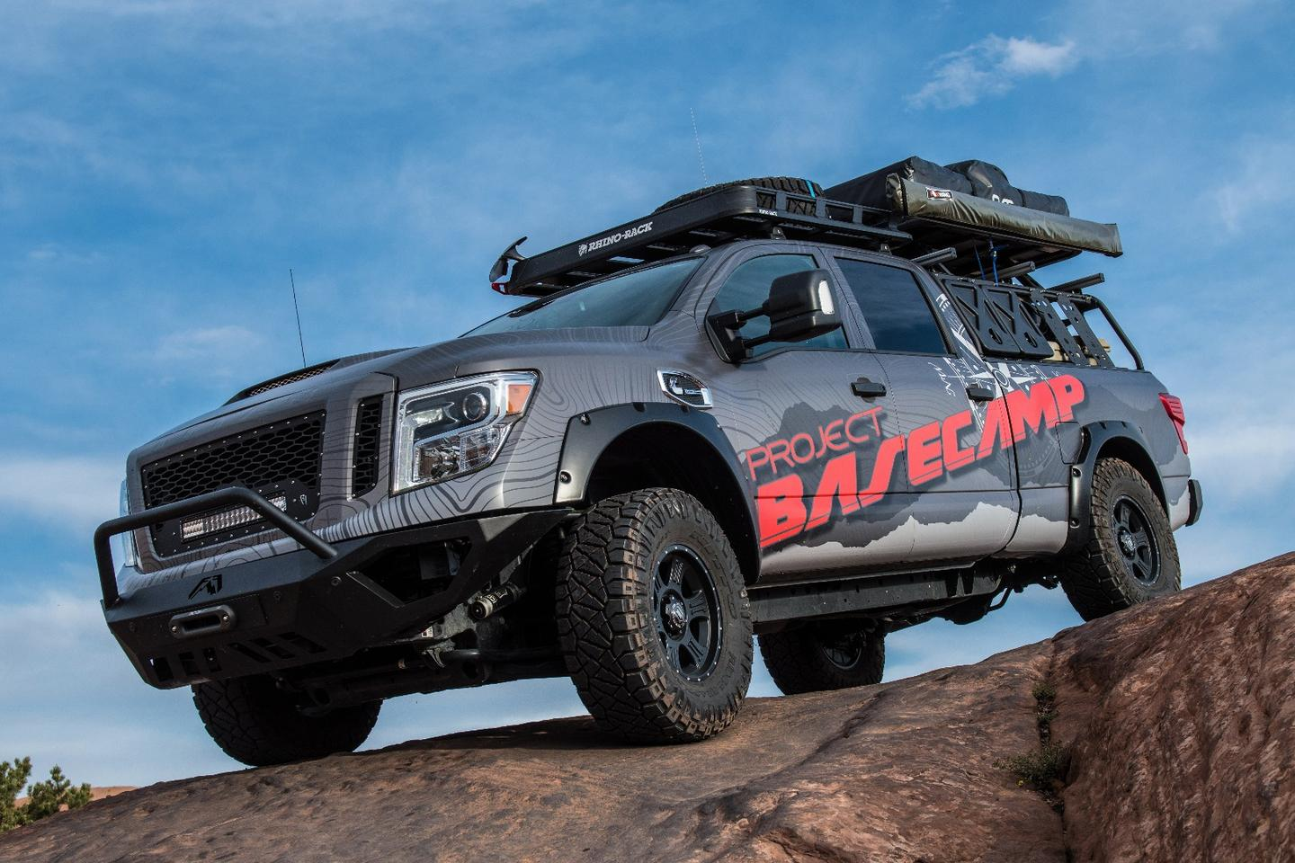 The Titan XD is powered by a diesel engine