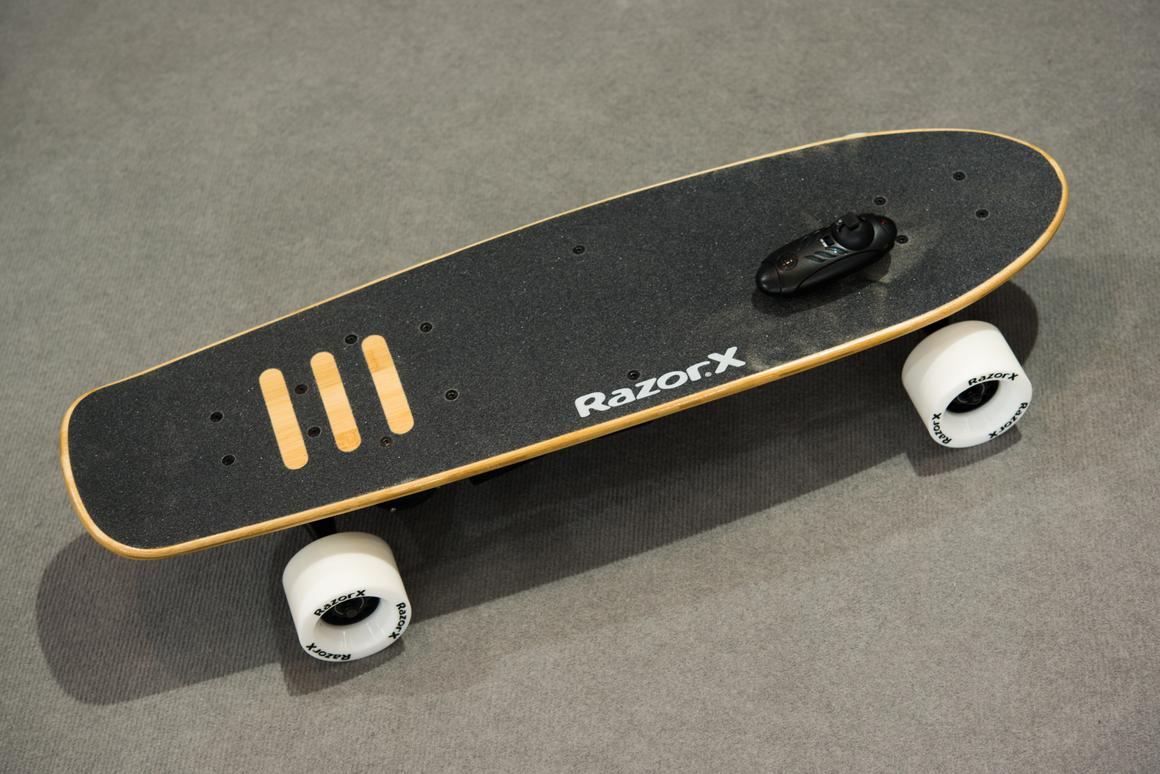 We try out theRazorX CruiserElectric Skateboard