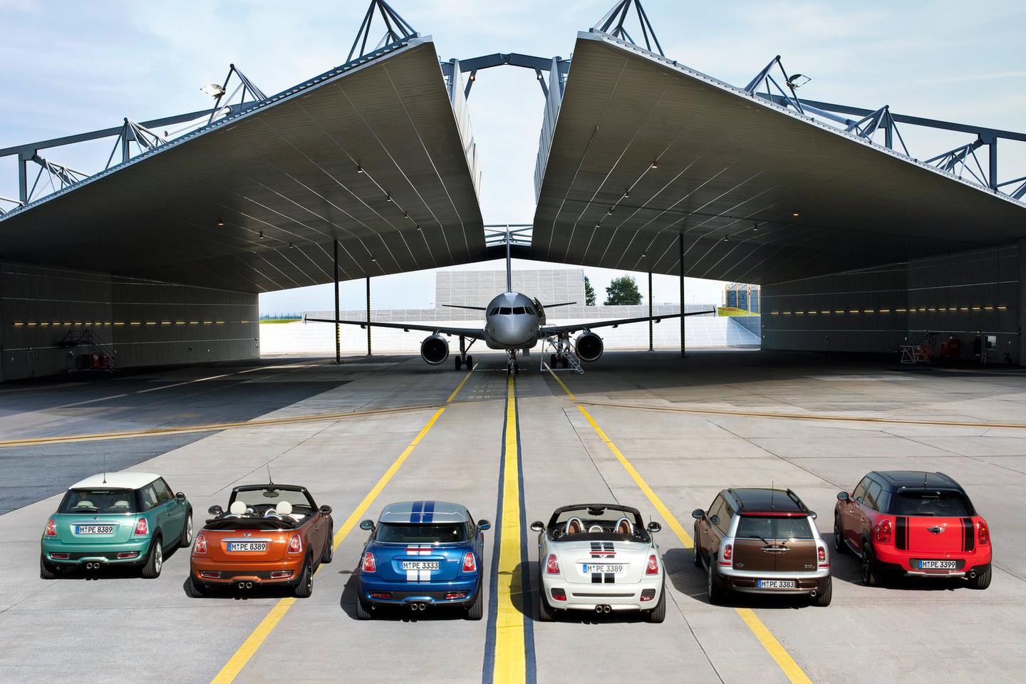 The MINI line up will be six strong in 2012