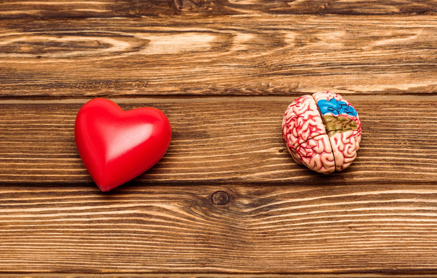 A new study has found healthy subjects in their 50s with subclinical signs of heart disease also displayed impaired metabolism in parts of the brain associated with Alzheimer's disease
