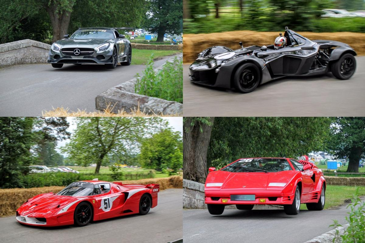 "The theme of Cholmondeley Power and Speed 2016 was ""supercars: past, present and future"""
