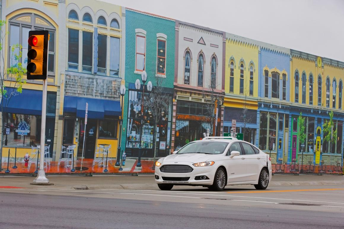 Ford's fleet of autonomous Fusion Hybrid vehicles will be tested on roads of California, Arizona and Michigan