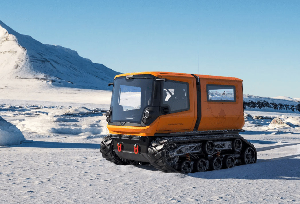 The Antarctica prepares for polar research duty