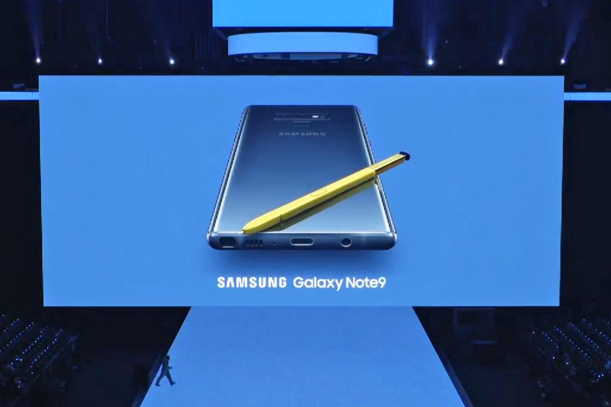 The Samsung Galaxy Note 9 has been unveiled in New York