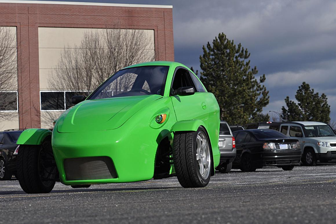 The Elio 3-wheeler