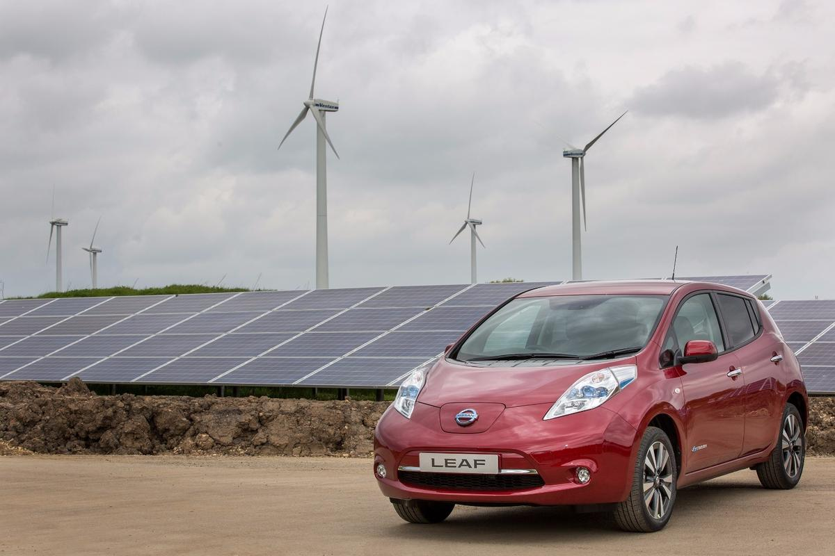 Nissan now uses renewable energy to fulfil seven percent of its Sunderland plant's electricity needs
