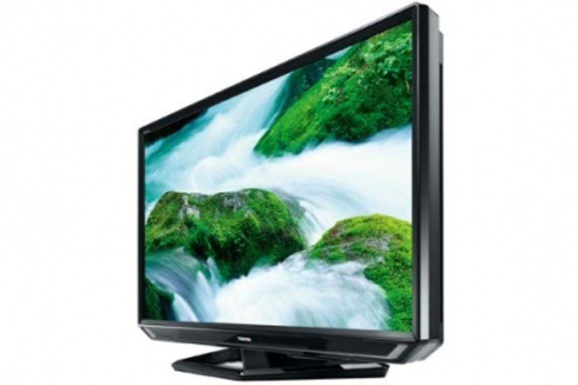 Toshiba's ZF575D LCD screen, featuring image upscaling technology