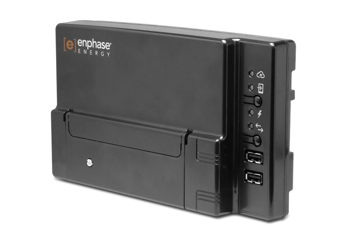 Enphase Envoy-S, the networking hub of the system