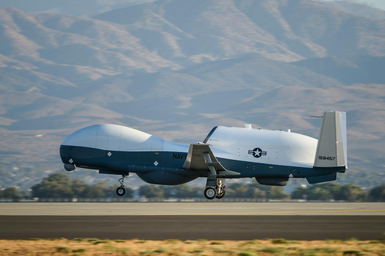 The MQ-4C Triton Unmanned Aircraft System (UAS) takes off from Northrop Grumman's Palmdale, California, facility (Image: Northrop Grumman)