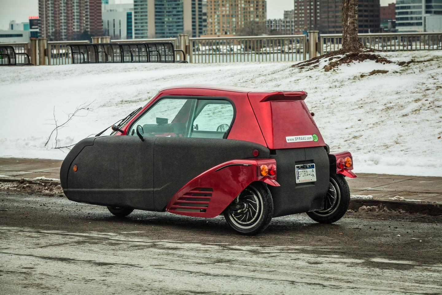 The Spira4U's top speed is limited to 60 mph (96.5 km/h) (Photo: Loz Blain/Gizmag.com)
