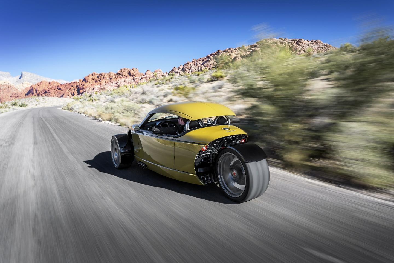 Vanderhall's Laguna treads a different path to weekend fun with its new three-wheel Laguna