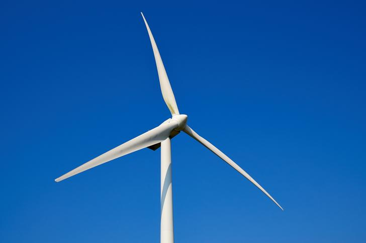 Wind turbines could benefit from placement behind hills, according to a new study