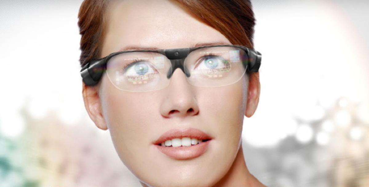 SeeThru is a new augmented reality smart glass from Laster