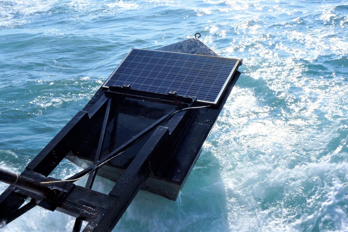 The addition of a solar panel atop an EWP floater could result in a power plant capacity increase of between three and 10 percent