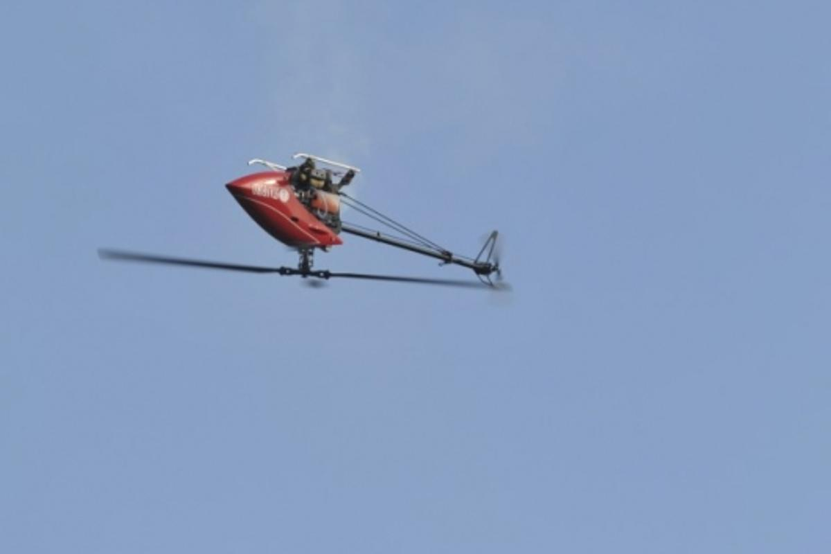 robot helicopter which can teach itself to fly by watching other helicopters in the air