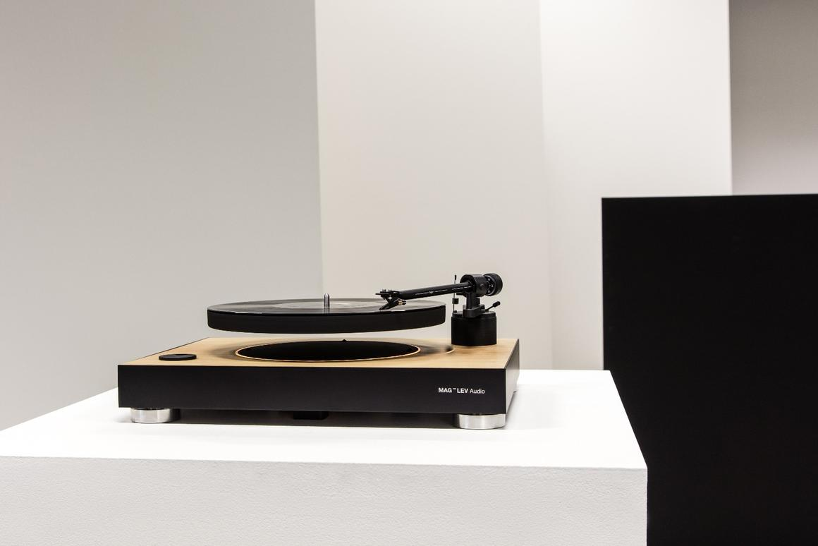 Mag-Lev Audio says thatthe system has been designed to ensure precious vinyl is safe and playback smooth