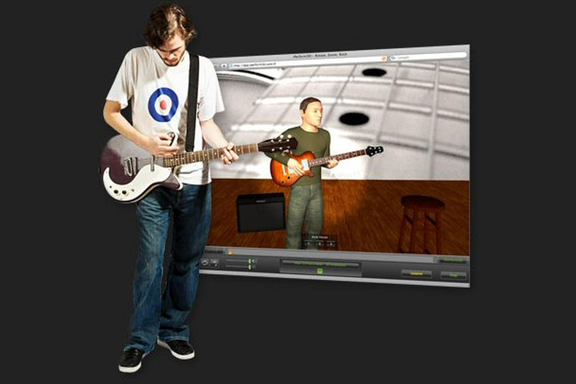 The iPerform3D application is an online guitar learning experience that allows users game-like immersive tutorials with all-round viewing angles and zoom capabilities