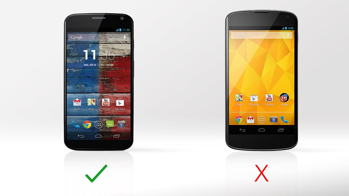 The Moto X's Active Display is an innovative new feature that no non-Motorola currently has