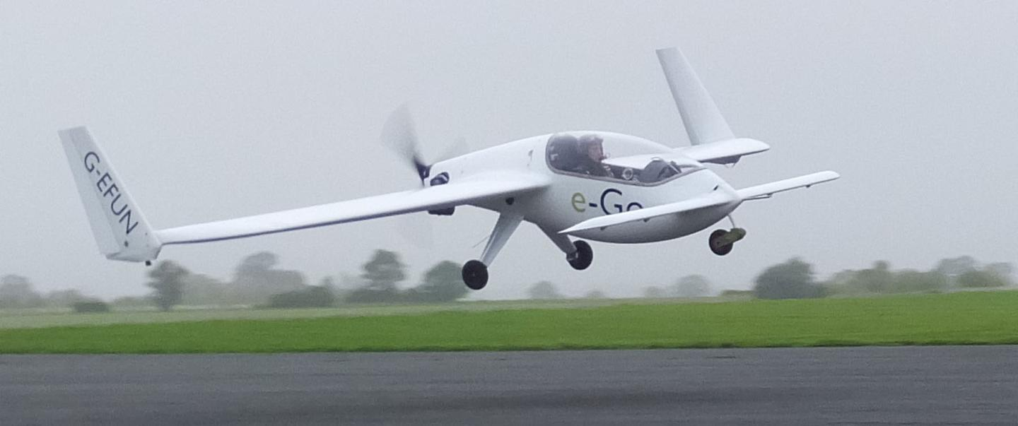 e-Go aeroplanes is looking for a cash injection to keep its team together