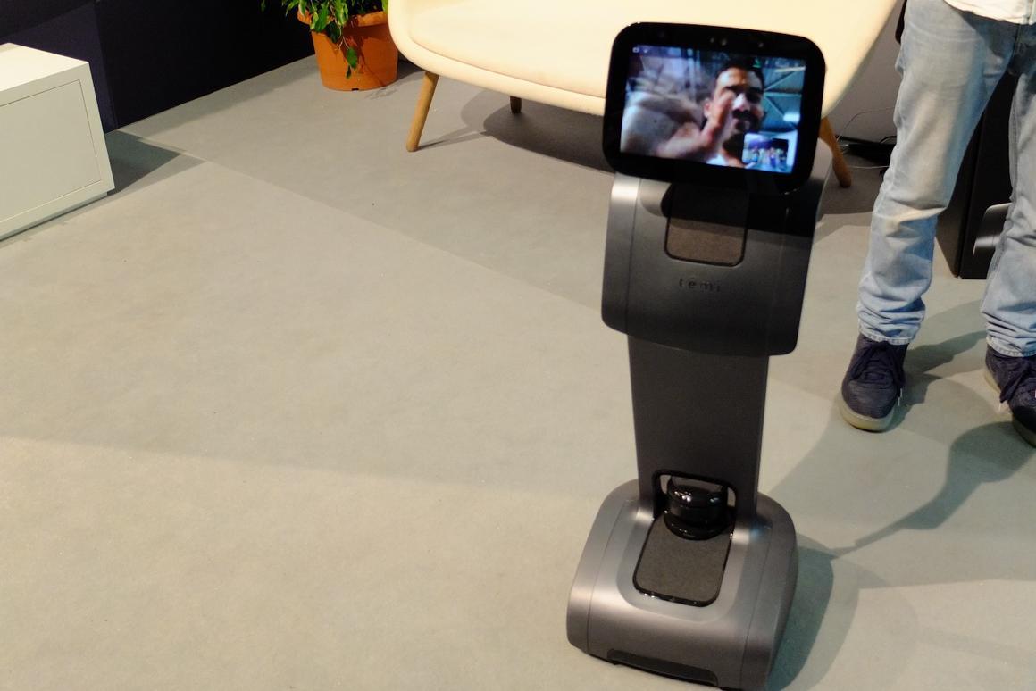 $1,500 tēmi personal robot goes on sale October 1