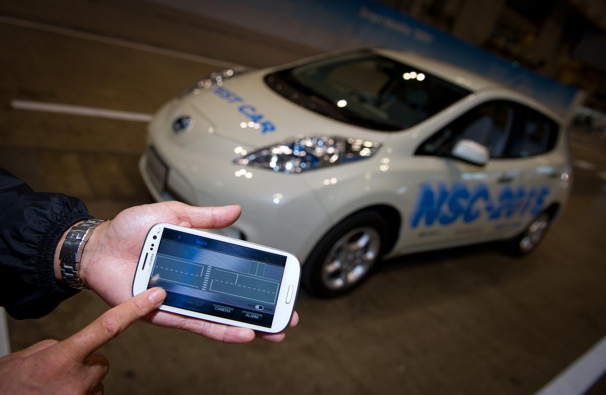 The Nissan NSC-2015 provides autonomous driving and safety features