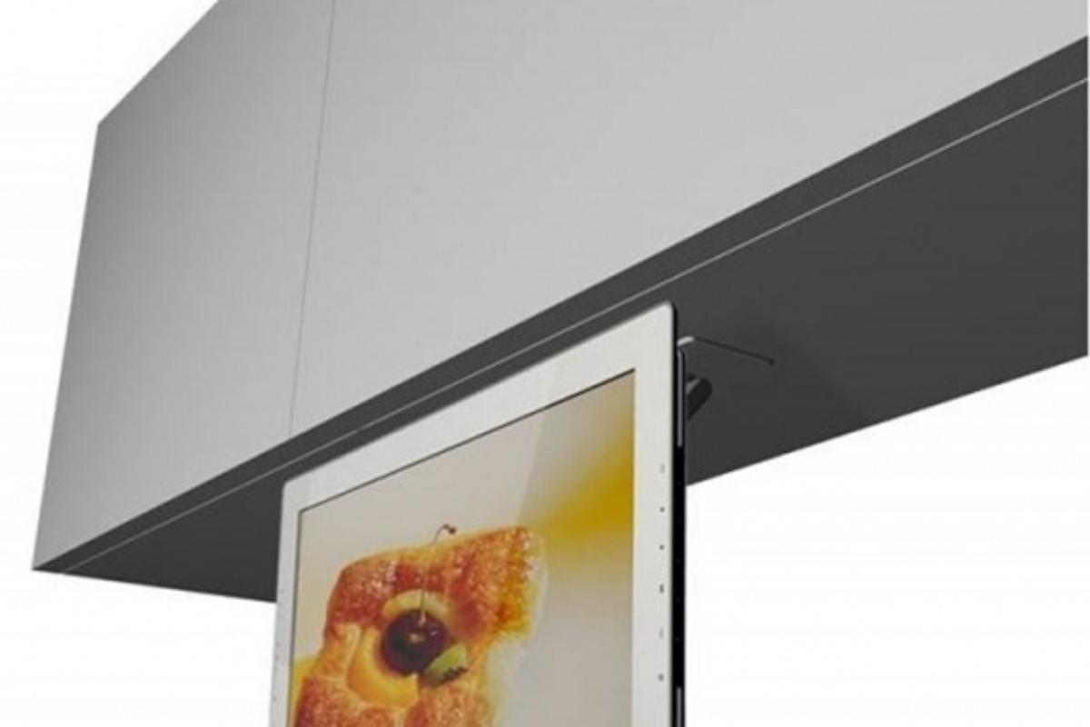 Pandigital Kitchen HDTV/Digital Cookbook/Digital Photo Frame