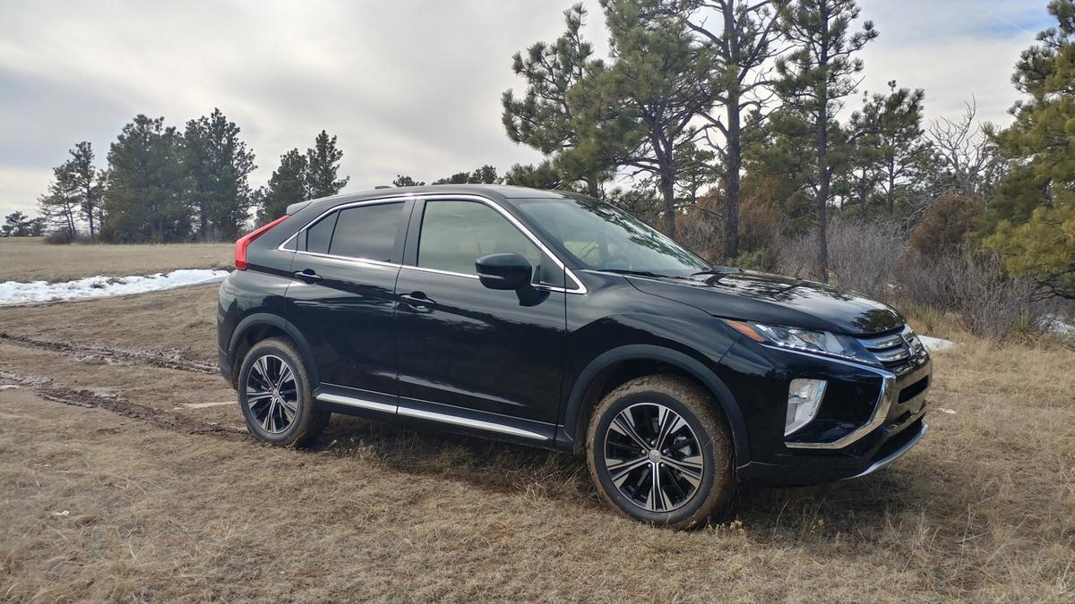 The Mitsubishi Eclipse Cross is sort of a crossover of a crossover, fitting in the sport activity vehicle segment