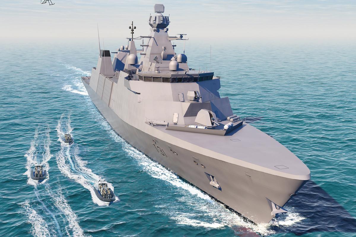 Artist's concept of HMS Venturer