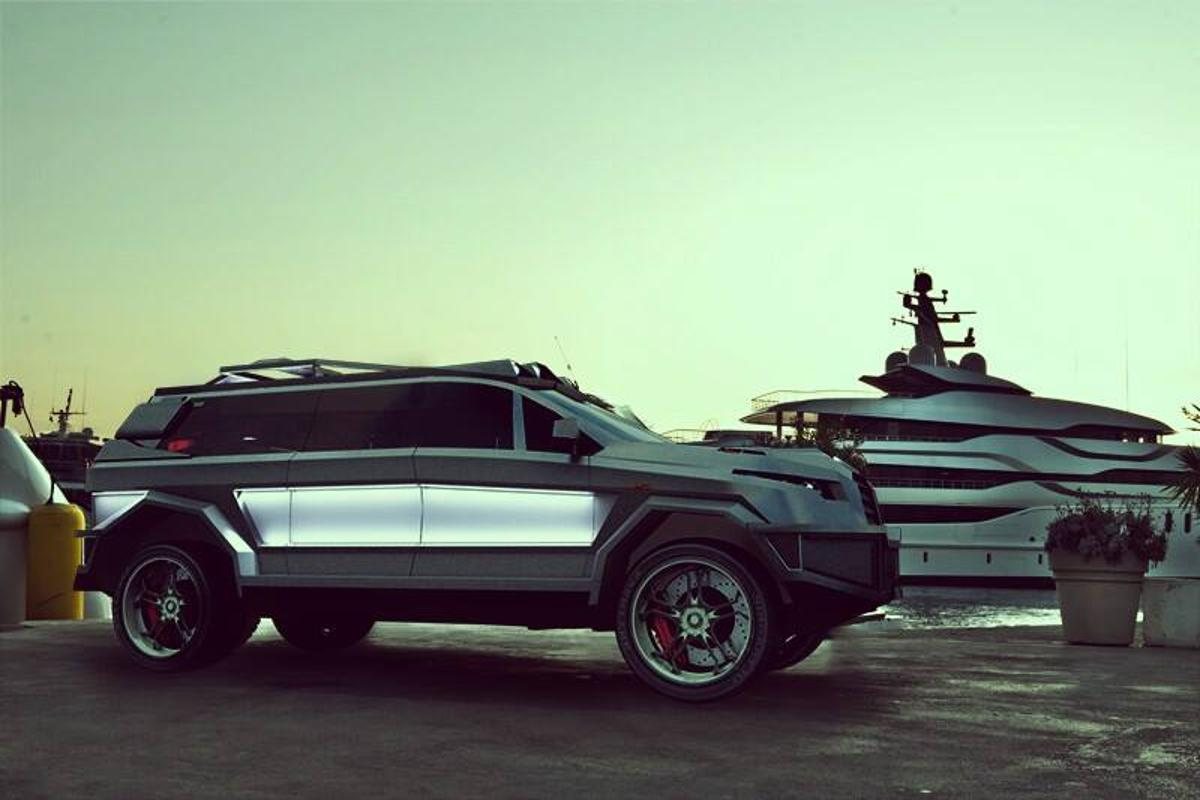 If your daily commute includes yacht clubs and war zones, the Prombron Black Shark may be the right set of wheels for you