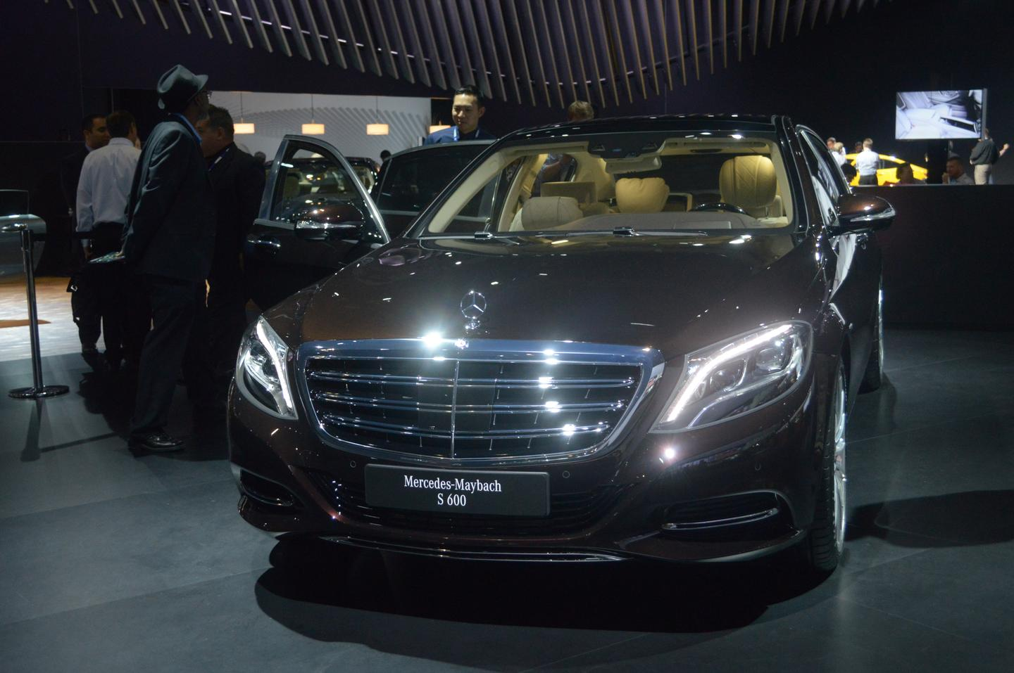 The Mercedes-Maybach S600 is an ultra high-end flagship for the German brand (Photo: C.C Weiss/Gizmag)