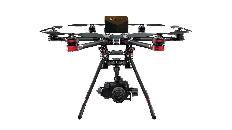 Walkera has beefed up its professional QR X900 hexacopter with a methanol-fueled range extending generator to promise flight times over an hour