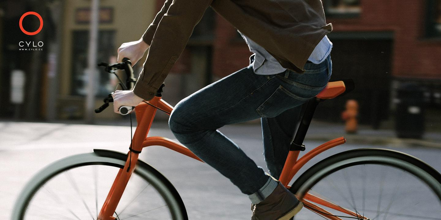The Cylo range of urban bicycles is built purely for those living in big cities