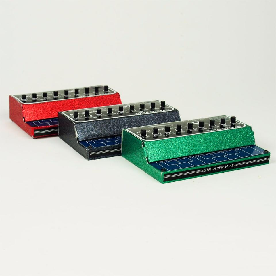 The MAcchitao Mini Synth is available ready-to-play
