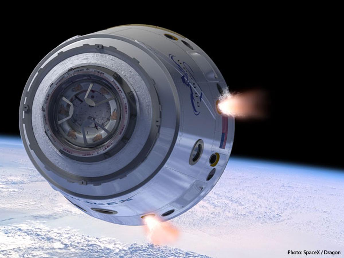 When SpaceX's Dragon capsule docks at the International Space Station in November, it will mark the first time that a private spacecraft has visited the facility