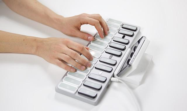 Opho's keyboard is said to have something for players of all levels