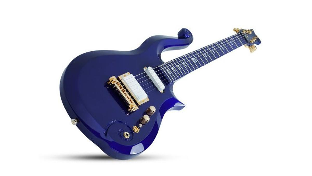 The Cloud Guitar replica by Schecter is available only through the official Prince store, and is expected to ship in November, 2019