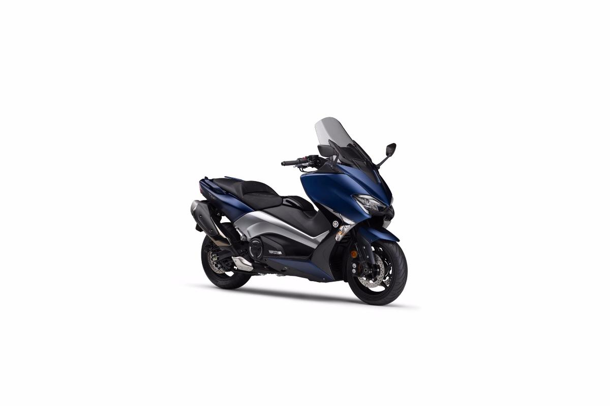 Electronic throttle control makes its Yamaha scooter debut on the TMAX