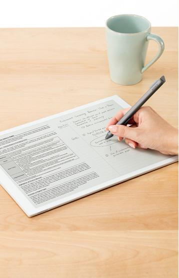 The new Sony Digital Paper tablet can connect to Windows and Mac devices to share PDF files, via USB, Bluetooth and Wi-Fi