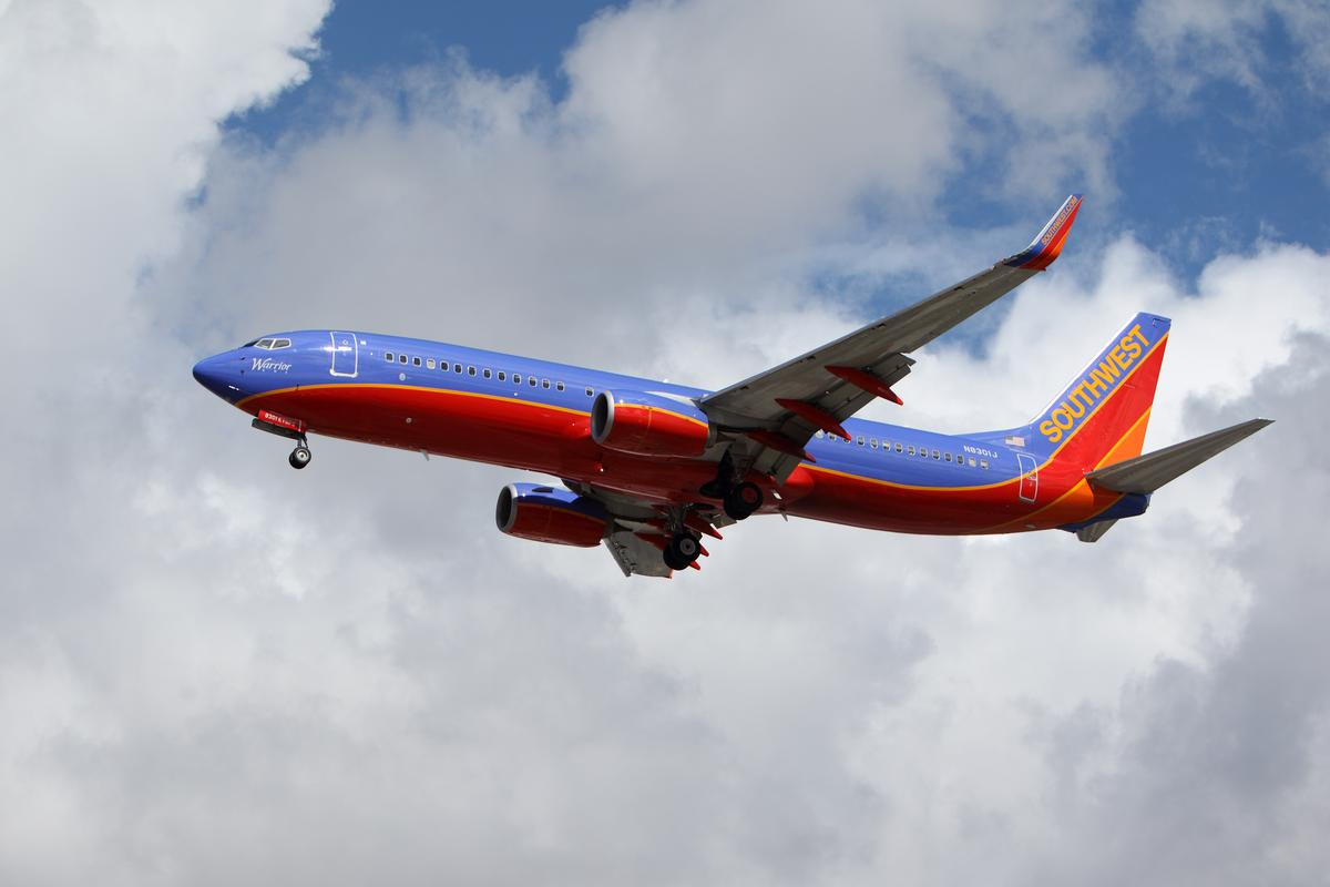 Southwest Airlines has installed water vapor sensing systems on many of its aircraft (Photo: Digital Media Pro/Shutterstock)