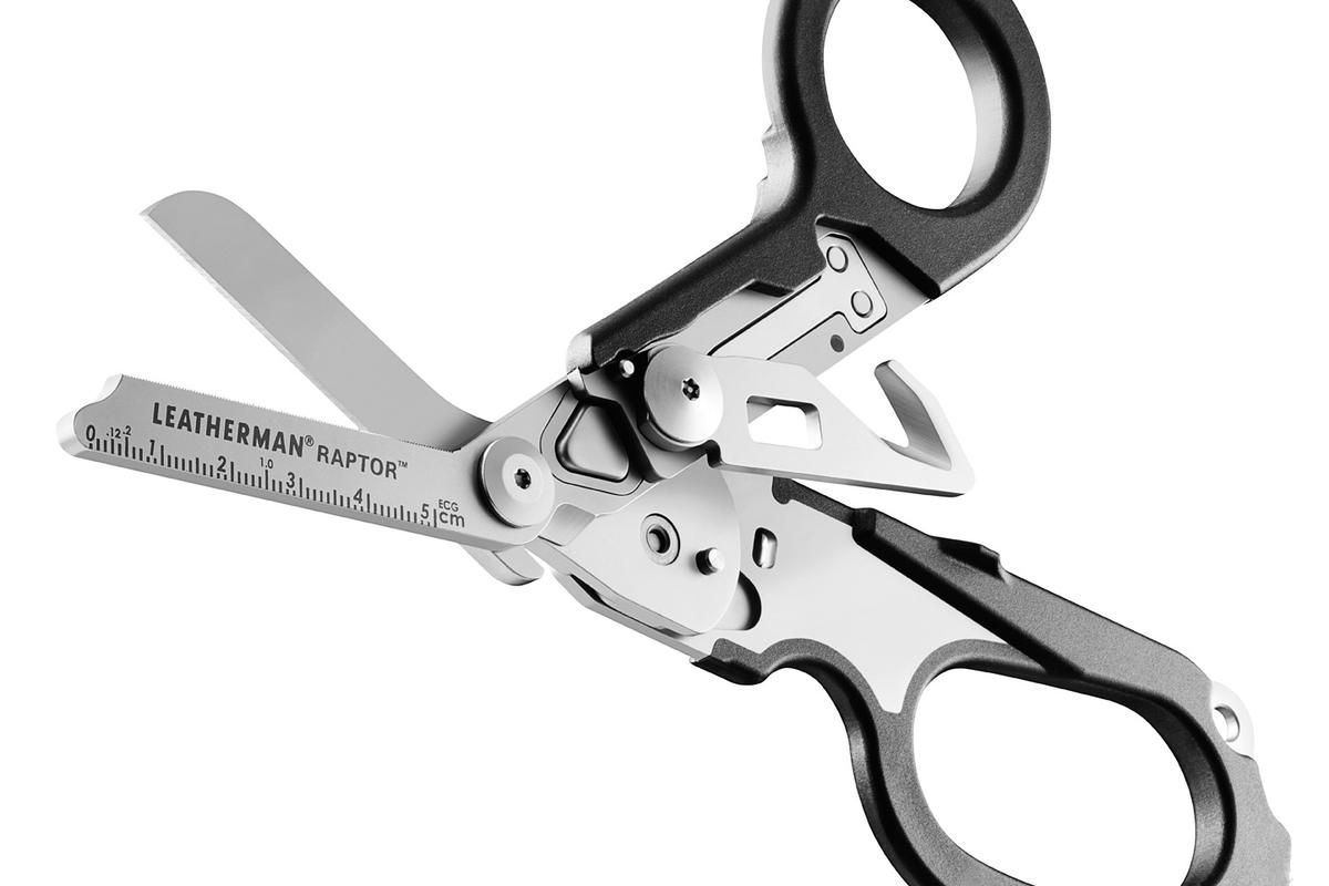 Leatherman has revealed the Raptor, a pair of medical shears built like a multi-tool and designed to help field medics get people out of dangerous situations