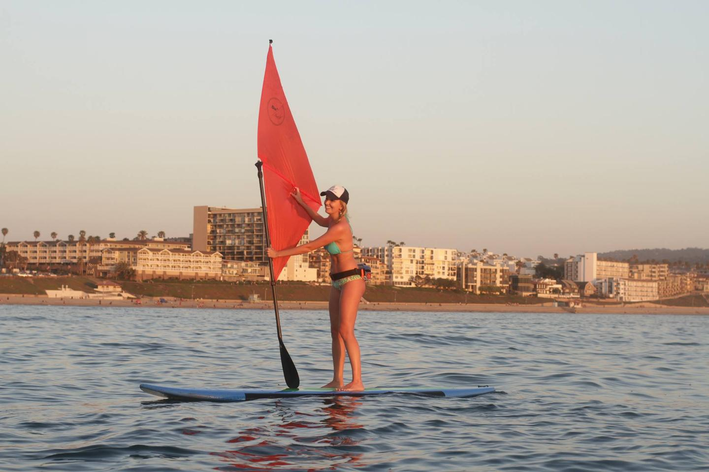 Sailpaddle blends paddleboarding and windsurfing